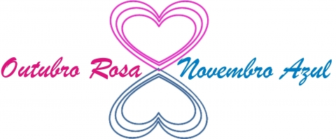 Resultado de imagem para logos do outubro rosa & novembro azul 2019